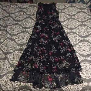 ⭐️ Banana Republic navy blue maxi dress sz 4 Small